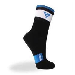 White Light Cycling sock